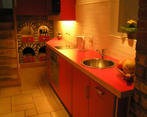 Fermoy Accommodation Self Catering Kitchen